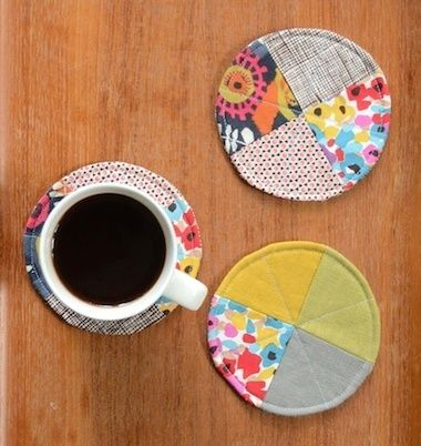DIY Coasters Are Great Crafts for Beginners #sewingprojects