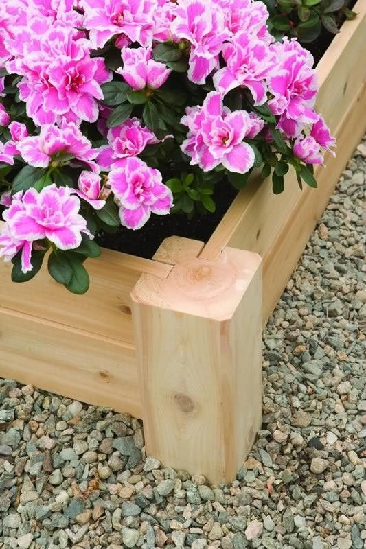 Corner Posts For Raised Planting Beds