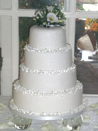 EDIBLE SUGAR DIAMONDS Wedding Cake Jewelry Decoration ...