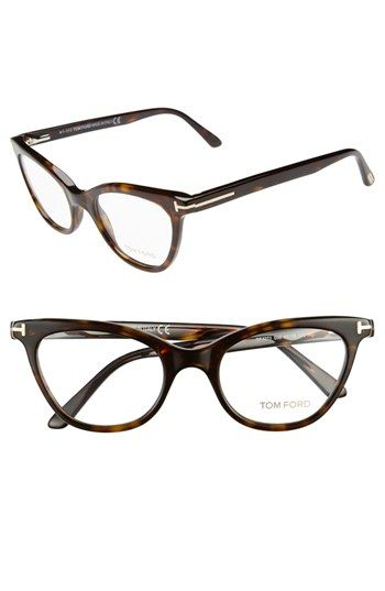 c001230729a Tom Ford 49mm Cat Eye Optical Glasses (Online Only) available at  Nordstrom.  I WANT!!!