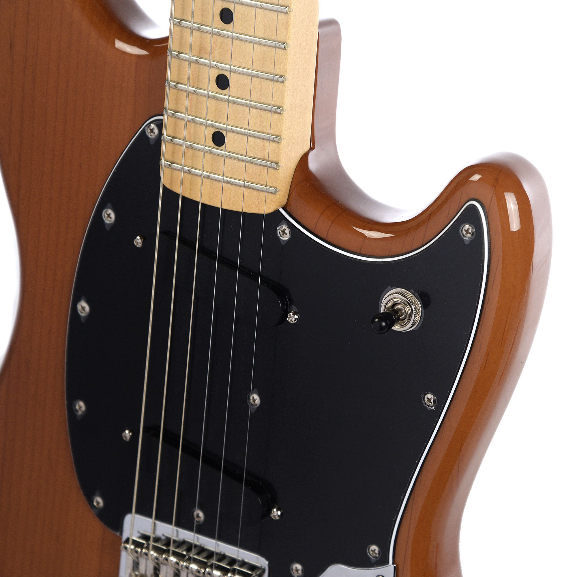 Fender Offset Series Mustang MN Faded Mocha FSR Limited Edition (CME Exclusive) Pre-