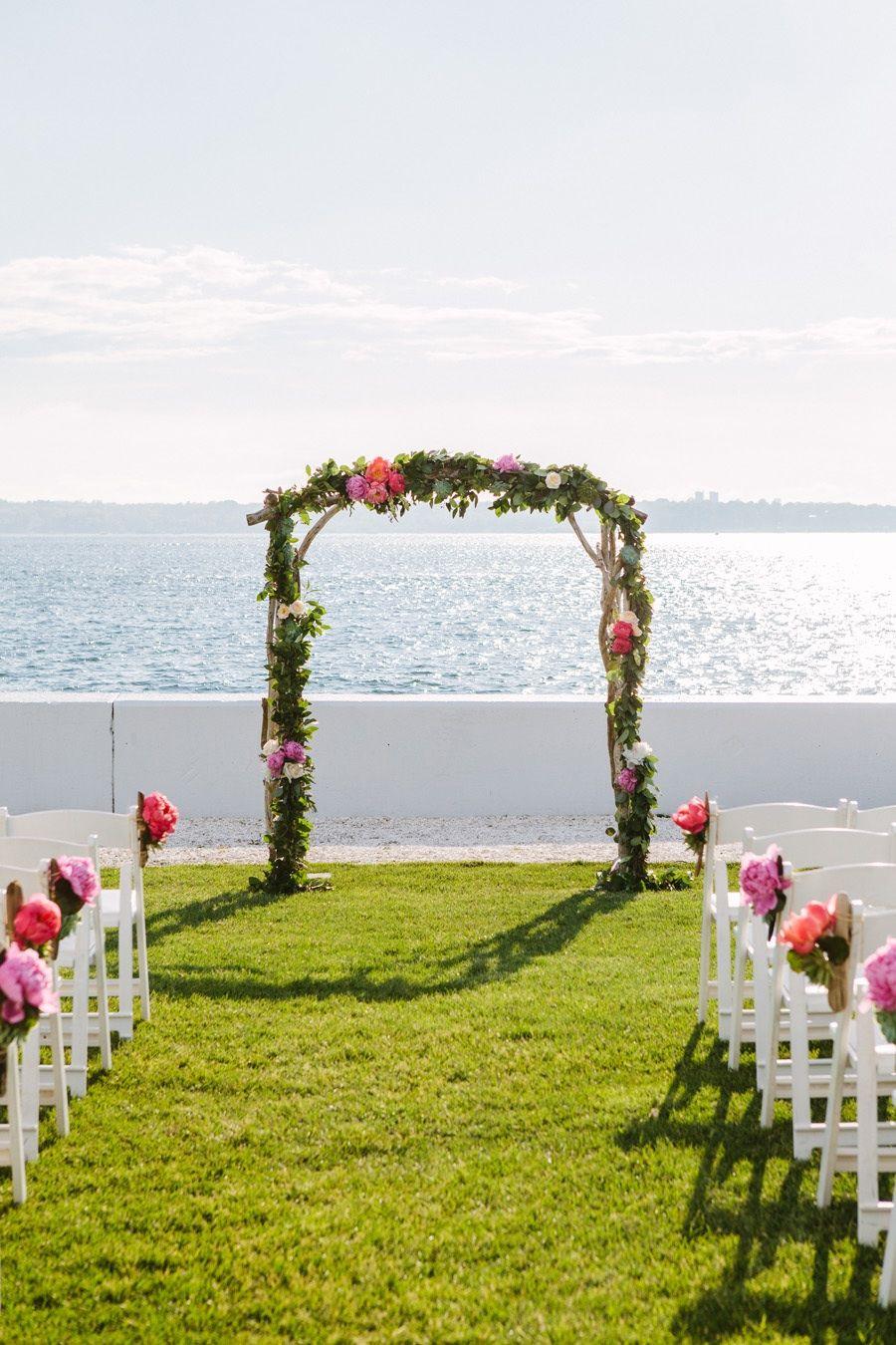 Amazing Escort Card Table Idea at Rhode Island Wedding | Island ...