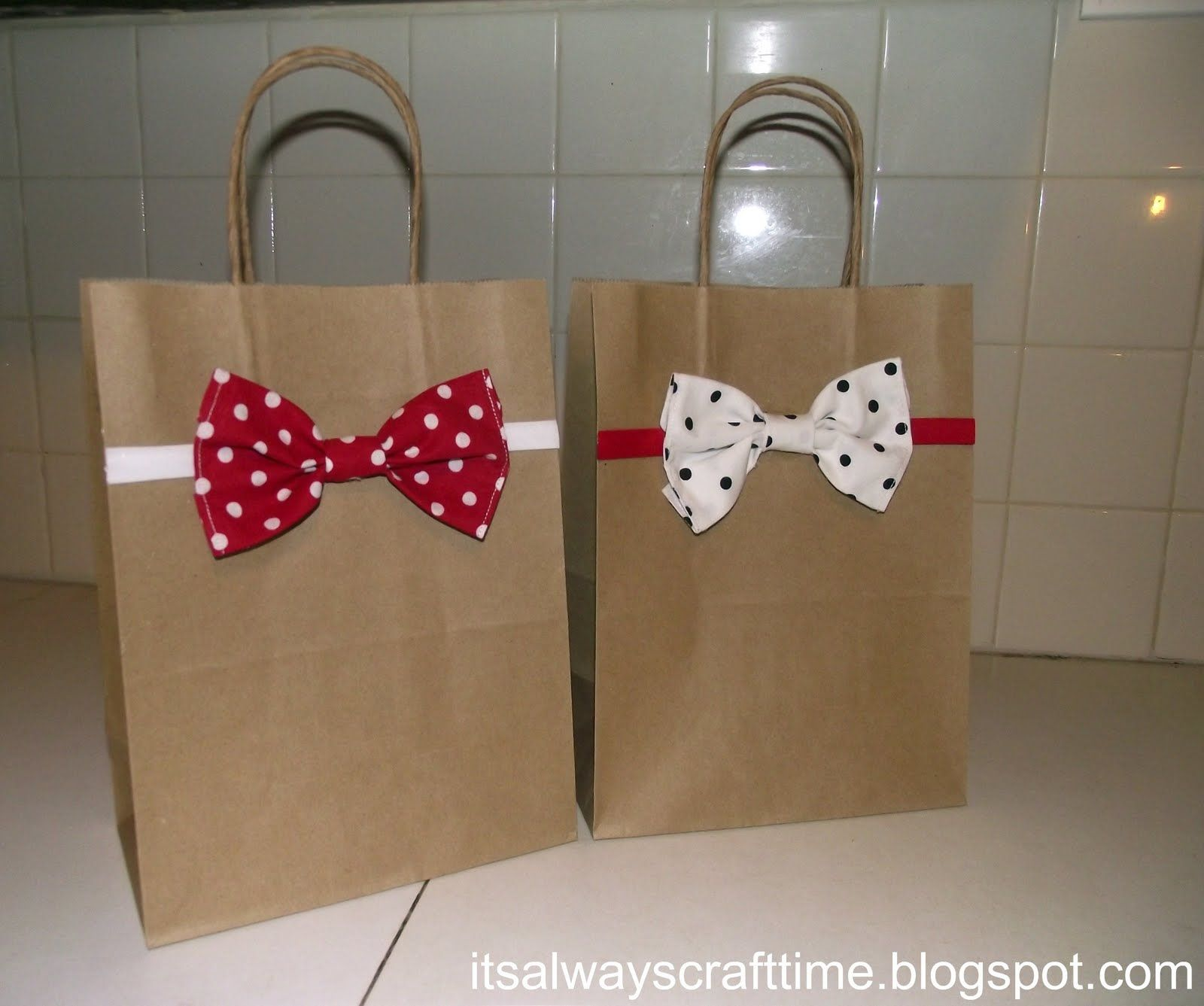 idea for decoration bag scrapbooking project ideas