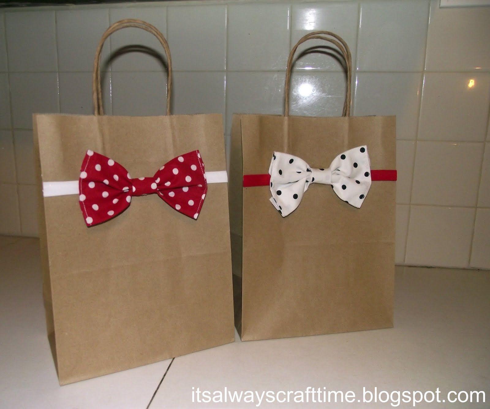 Idea For Decoration Bag With Images Paper Bag Decoration