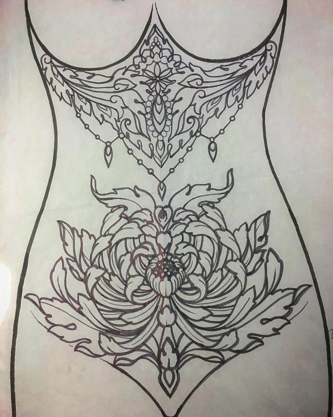 Frau intimtattoo Tattoo Ideen