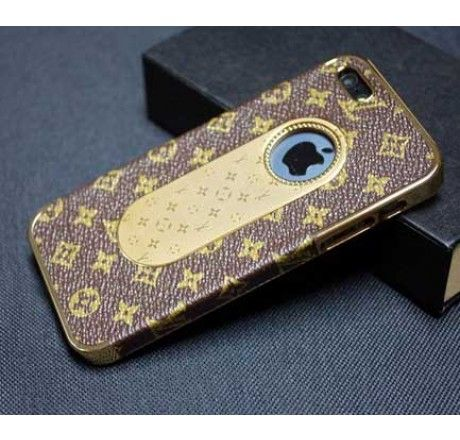 hot sale online d6692 a362d Luxe Louis Vuitton iPhone 5 5S Cover Classic - Free Shipping Luxury ...