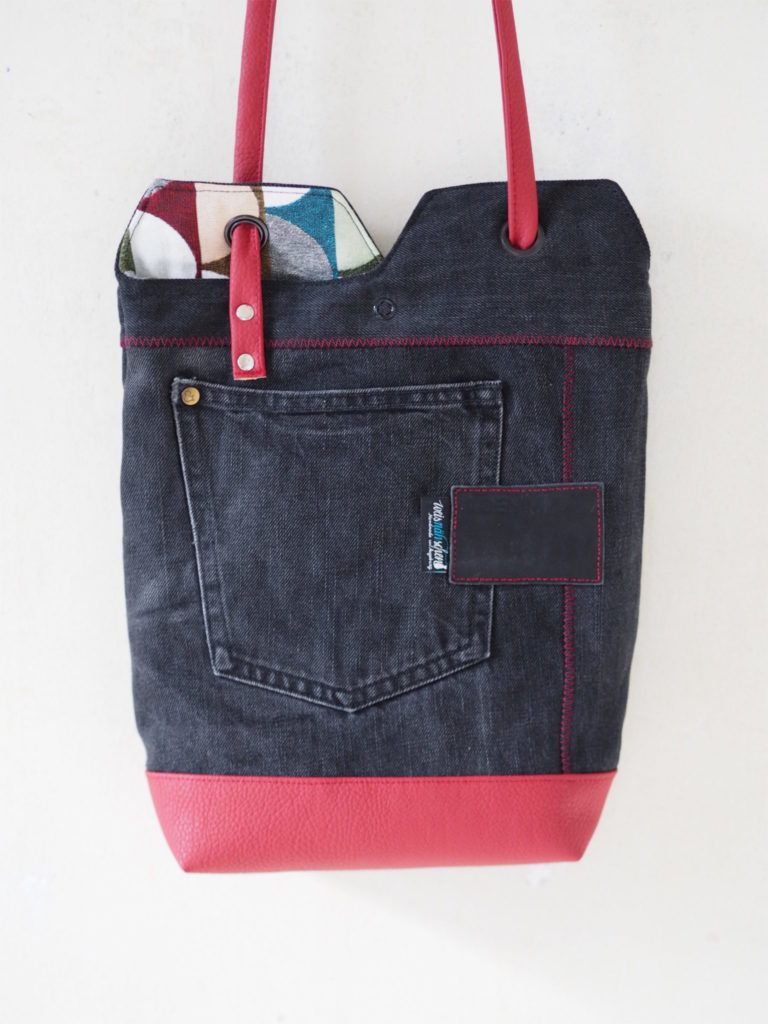 renske\'s minimalist tote bag nähen schnittmuster 1 | Tasche ...
