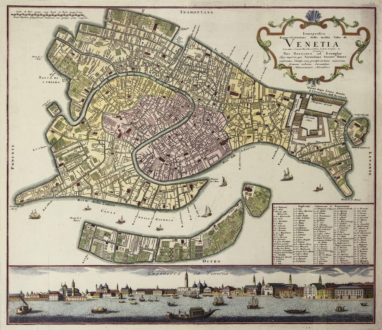 Johann Baptist Homann - Venice 1729 # ...