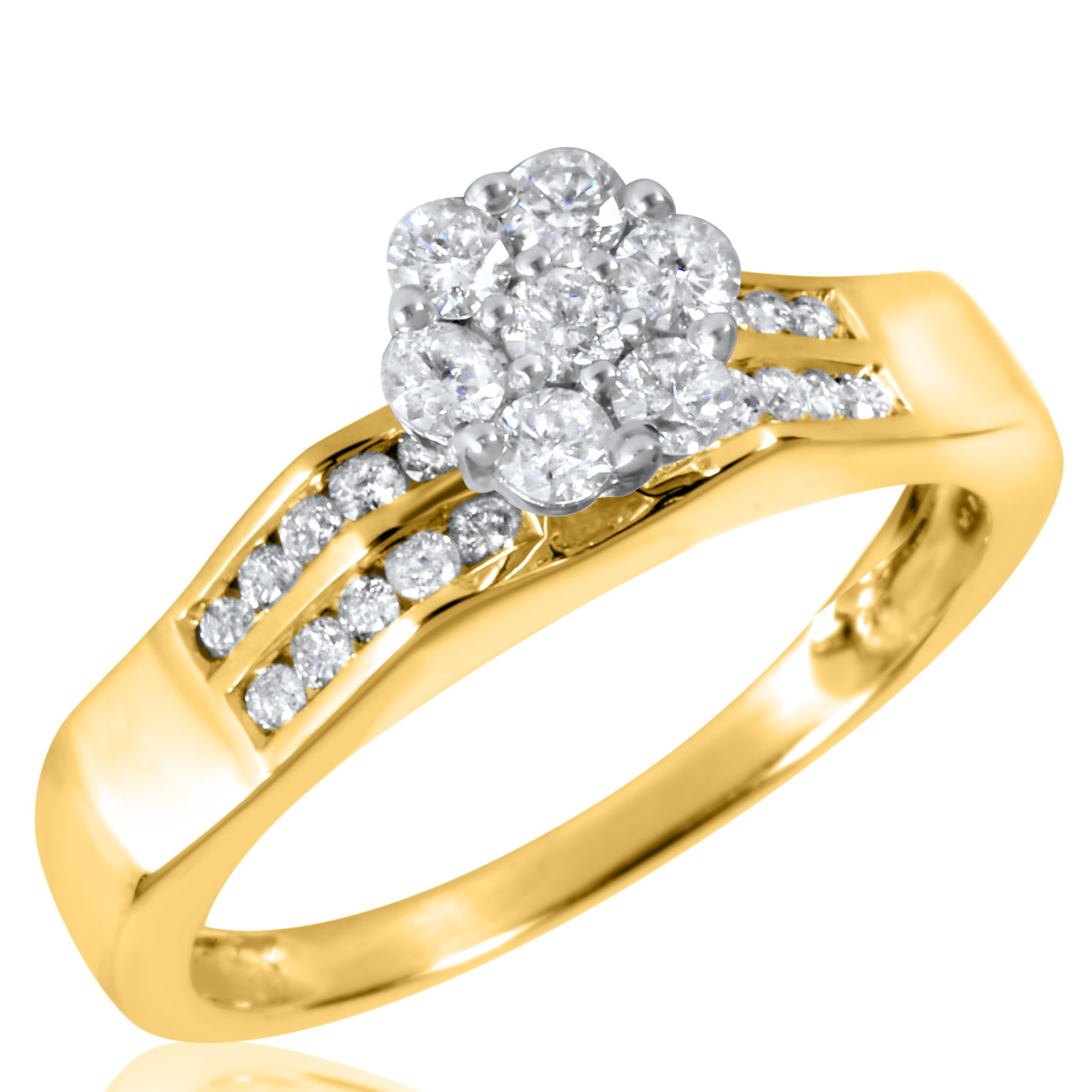 cp gold walmart band bands com wedding and diamond rings