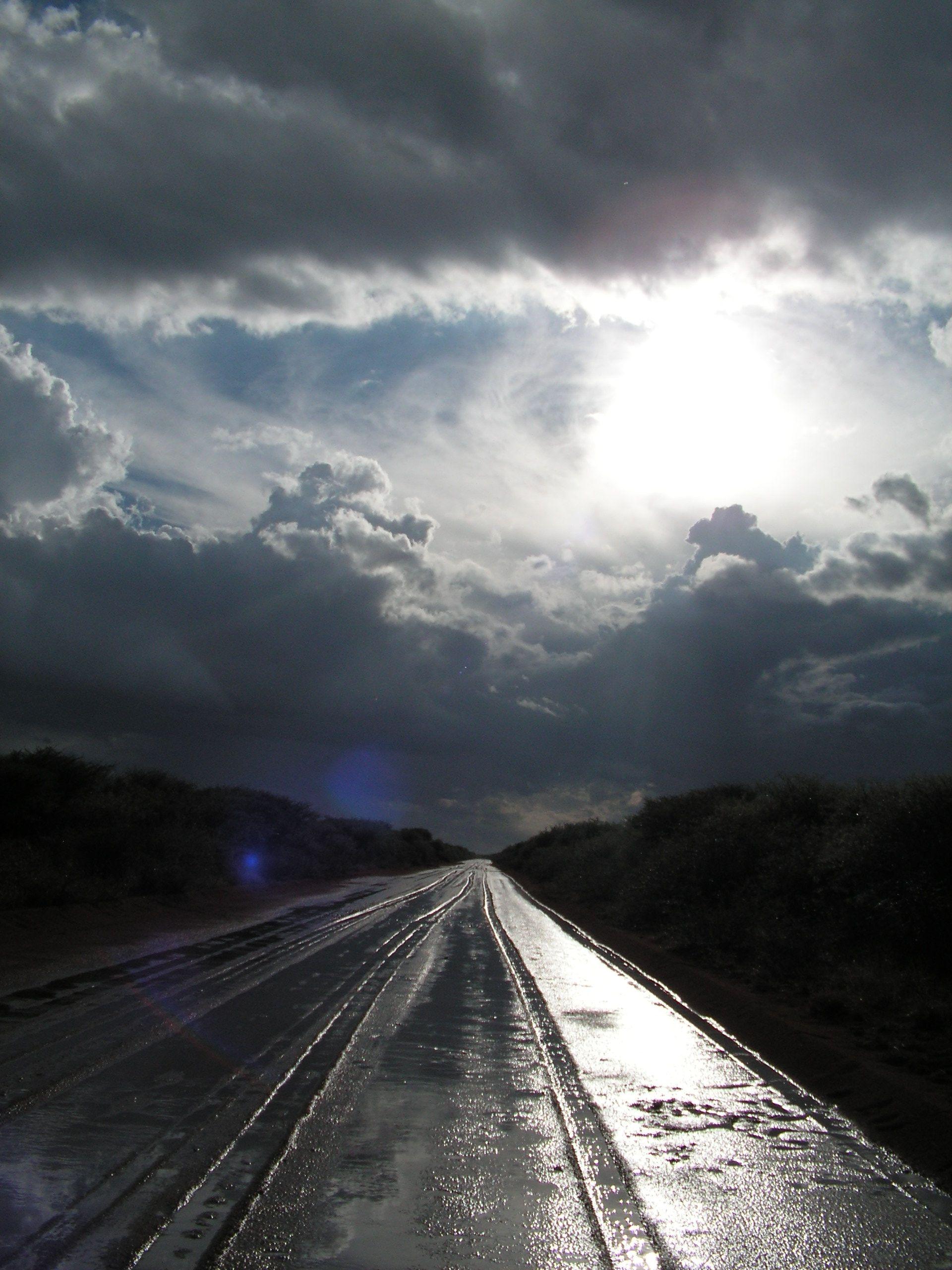 каком дождь на дороге картинка для вам подборку