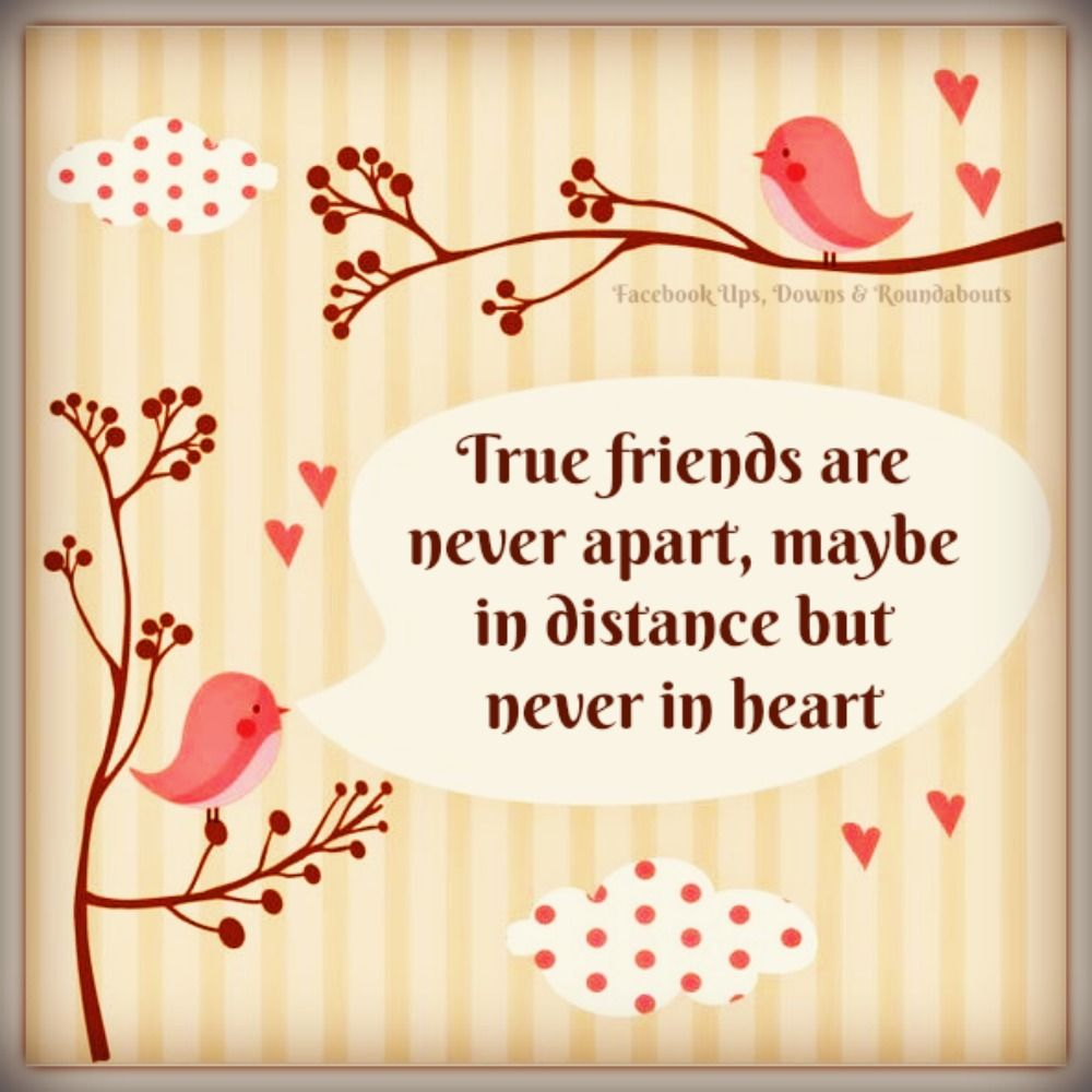 Quotes About Friendship Distance True Friends Are Never Apart Maybe In Distance But Never In Heart