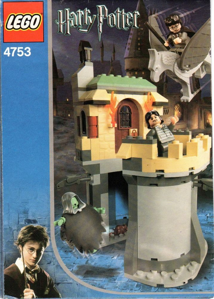 Lego Harry Potter Set 4753 Instructions Only Sirius Blacks Escape