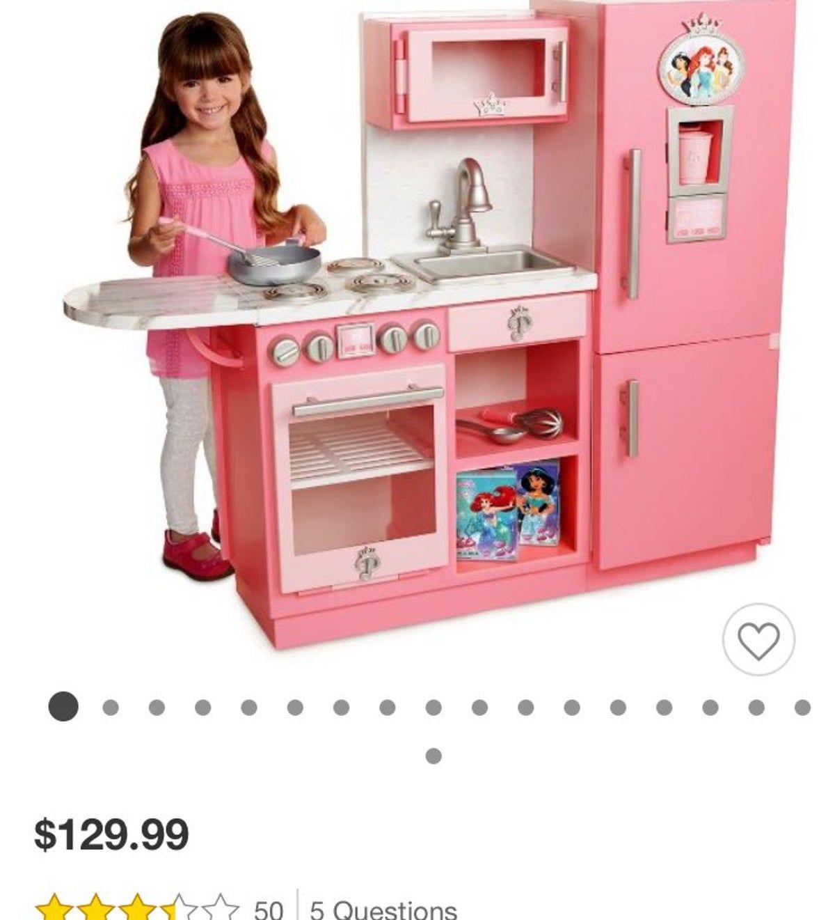 Disney Princess Gourmet Styke Kitchen In 2020 Princess Kitchen
