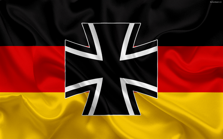 Download Wallpapers Flag Of The Bundeswehr Germany German Armed Forces Coat Of Arms 4k Silk Flag Silk Texture Bundeswehr German Flag Flag Of Germany Be Germany Flag Coat Of Arms German