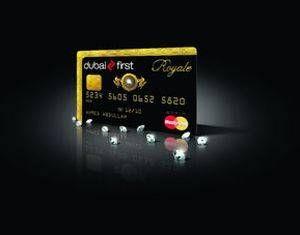 Dubai First Royal Gold And Diamond Master Card Credit Card Design Card Design Unique Cards