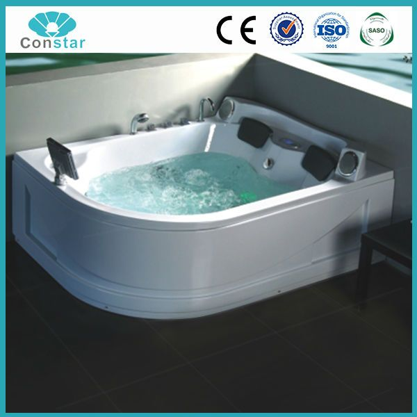 Source Deluxe Double Jet Whirlpool Bathtub With Tv 1800 1500 730mm