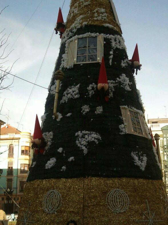 Árbol Navidad 2013 Gijón