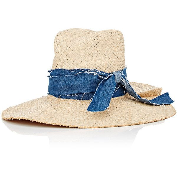 Lola Hats Women s Denim First Aid Hat ( 295) ❤ liked on Polyvore featuring  accessories 73dbb0372680