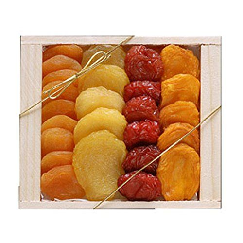 Great gift for graduation, birthday, thinking of you or any occasion Perfect gift basket for family and friends, or as a corporate office gift. This 10 ounce tray contains a gourmet assortment of succulant dried fruit from the fertile California valley. Broadway Basketeers Premium Dried Fruit Assortment (Small) Gift Tray, 10 Ounce Box