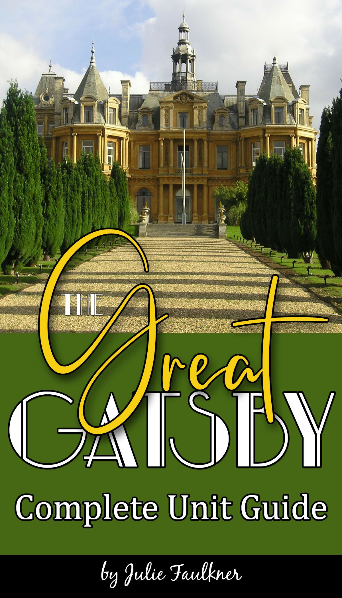 The Great Gatsby Unit Plan Literature Guide