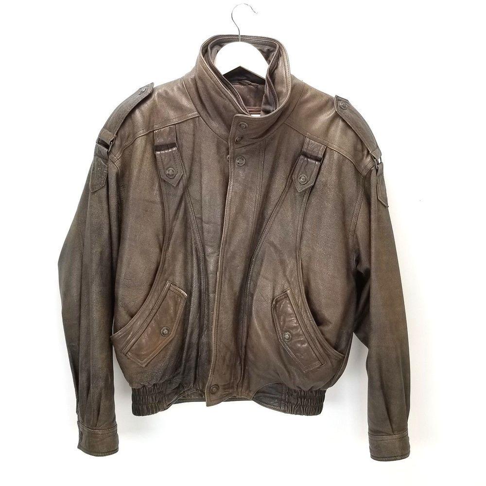 VTG Wilson s Mens Adventure Bound Leather Bomber Jacket Thinsulate Lined   Wilsons  Flighjacket  bomberjacket  vintagefashion  vintagestyle   leatherjacket ... 397e7e722c22b