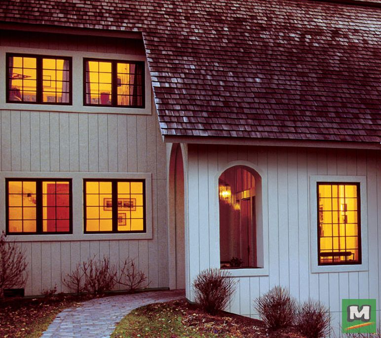 LP® SmartSide® Panel Siding Deliver All The Warmth And
