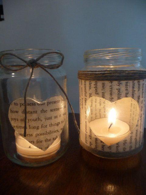 Mason Jar Night Light Ideas
