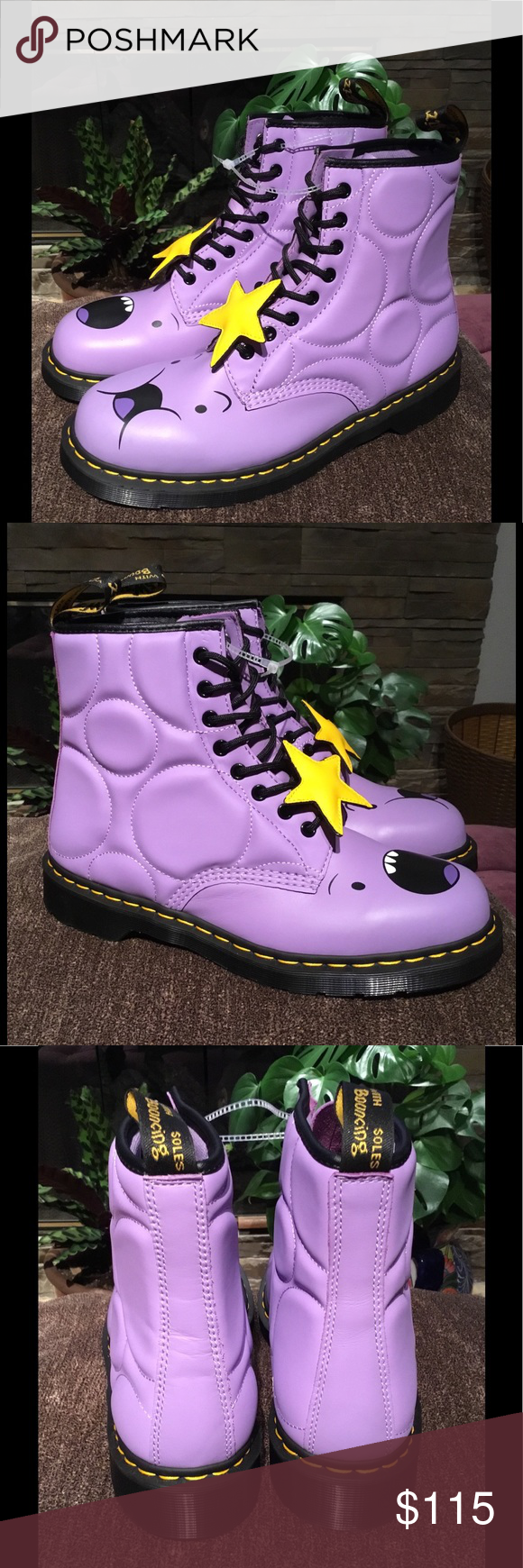 Dr Martens X Adventure Time Lumpy Space Princess 1460 Boots