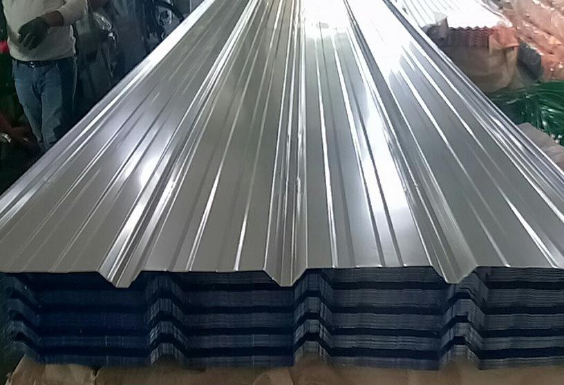 Trapezoid Tiles 10 100 1100 Corrugated Steel Roofing Steel Roofing Sheets Steel Roofing