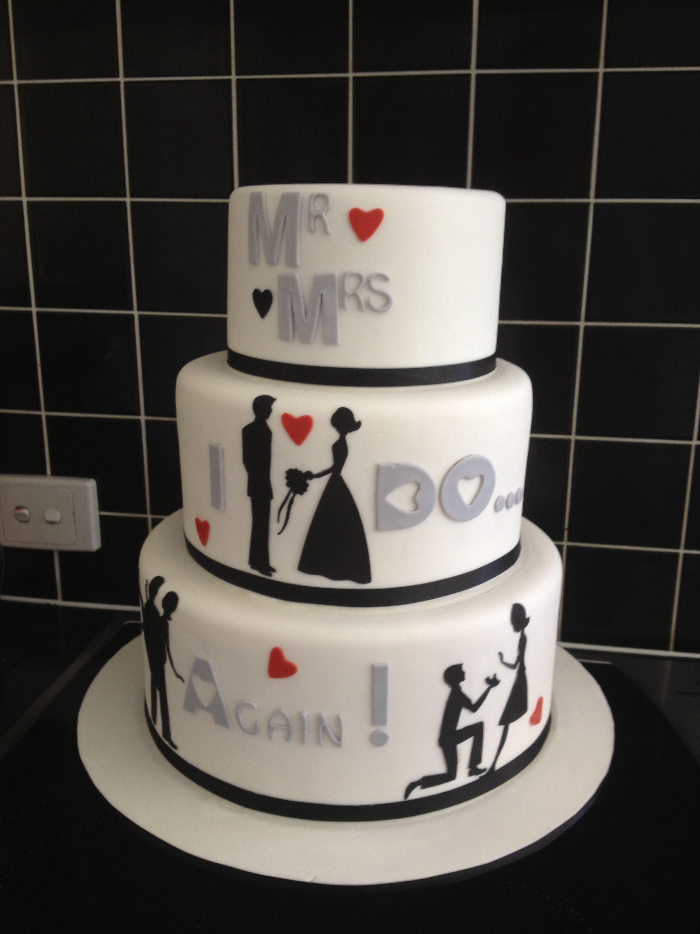 My Girlfriends Vow Renewal Cake Vow Renewal Cake Wedding