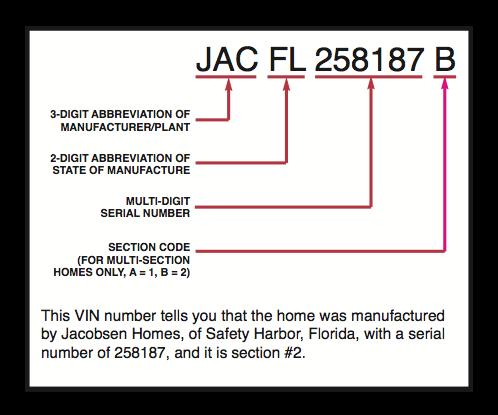 Identification Keys for Factory-Built Homes