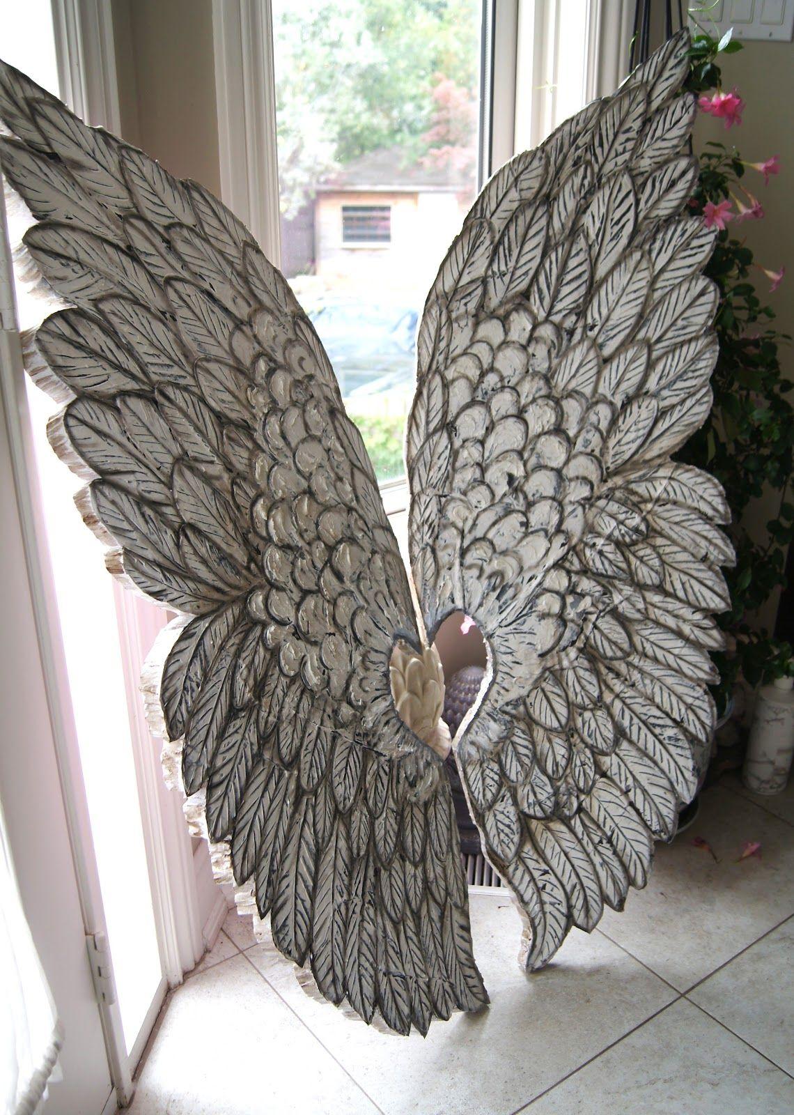 Angel Wings Wall Decor Artistic   Spiritual Girl ...