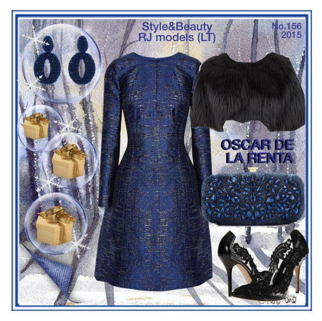 """""""OSCAR DE LA RENTA. Style&Beauty. No.156"""" by rasaj ❤ liked on Polyvore featuring Oscar de la Renta"""
