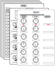 Elapsed Time Worksheets | Math - Time | Pinterest