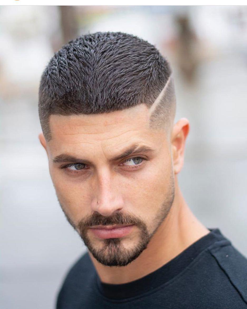 Image May Contain 1 Person Beard And Closeup Mens Haircuts Short Mens Hairstyles Short Mens Haircuts Fade