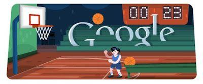 Google Doodle Basketball 2012 Doodles Games Basketball March Madness Bracket