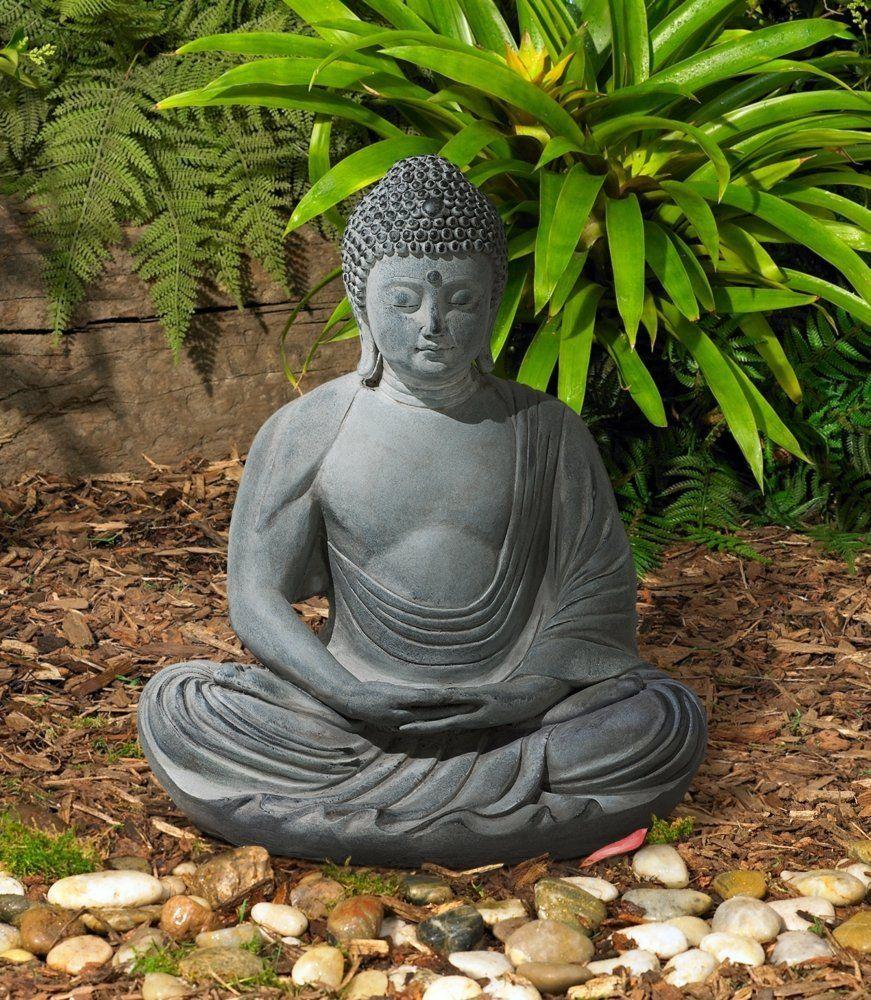 Seated Kuan Yin Statue Buddha Statues Yard Pinterest