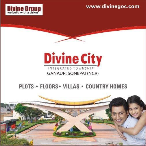 Divine City - Best Township in Ganaur Sonepat (NCR) Know more visit: http://divinegoc.com/divine-city/divine-city-overview.php #divinecity