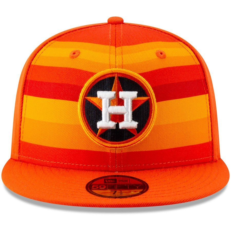 on sale 8a33a 9a7b2 ... uk new era houston astros orange alternate logo 59fifty fitted hat  4bc73 608b5