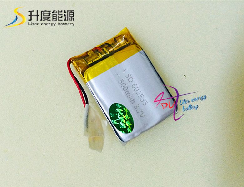 $12.85 (Buy here: http://appdeal.ru/45kr ) Free shipping - SD lithium polymer battery 602535 3.7v 500mah lipo battery for portable device for just $12.85