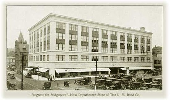 D M Read Co Bridgeport S Macy S Had A Tea Room Where People Went For Lunch Incl Igor Sikorski A Lovely Lady Connecticut History Bridgeport Connecticut