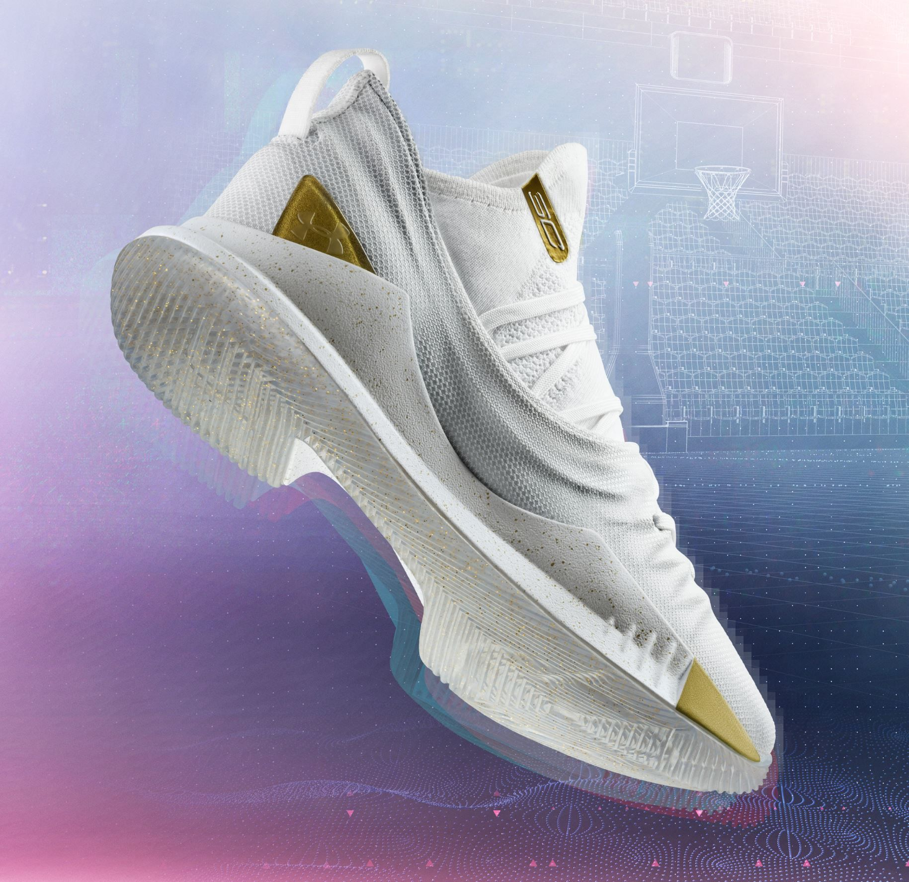 7dc2f33f51aa under armour curry 5 white gold 1