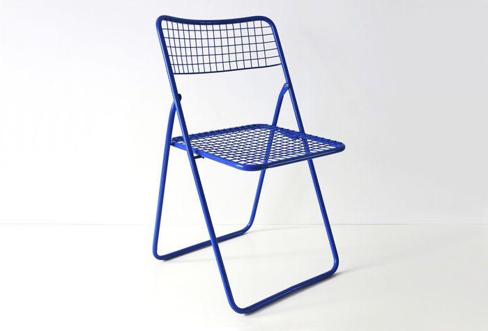 Niels Gammelgaard For Ikea 4 Blue Ted Net Chairs Chair Ikea