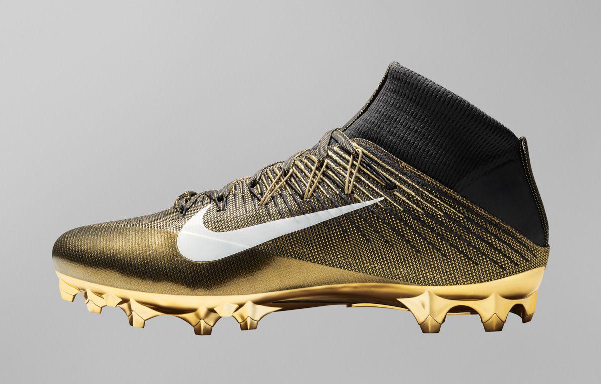 1ca8d4a55 Nike Vapor Untouchable Performance System. Nike Vapor Untouchable  Performance System Gold Football Boots ...
