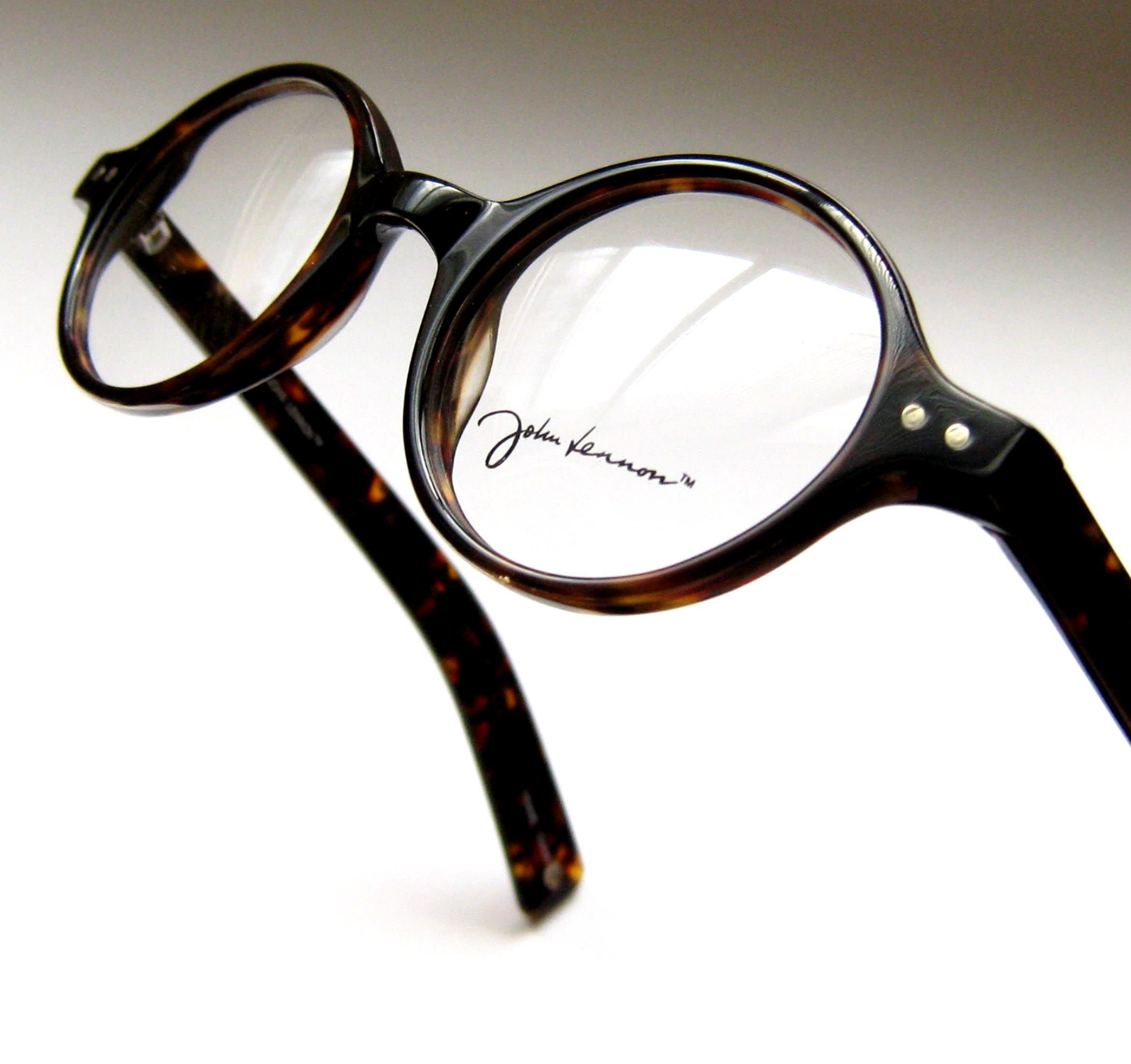 fcc3a6aa92 John Lennon Eyewear. This style is called  Boogie . Black or Tortoise round  eyeglass frames with paddle temples. Just like the 1960 s.