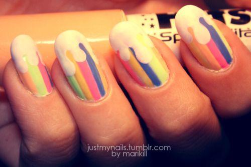 My Candy Nails Nails Posh Nails Cream Nail Art