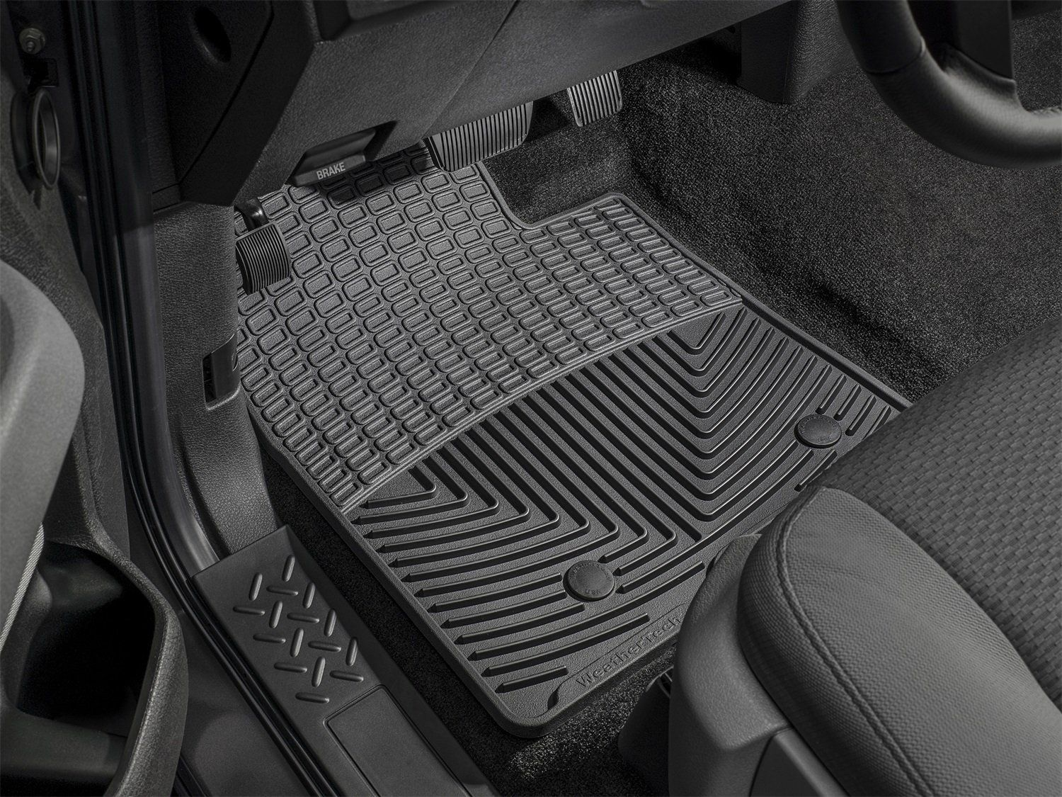 WeatherTech W183 Floor Mat Rubber Front Click image for