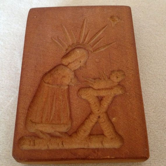 Nativity Cookie Mold and Spring Theme by DejaVuMarket on Etsy