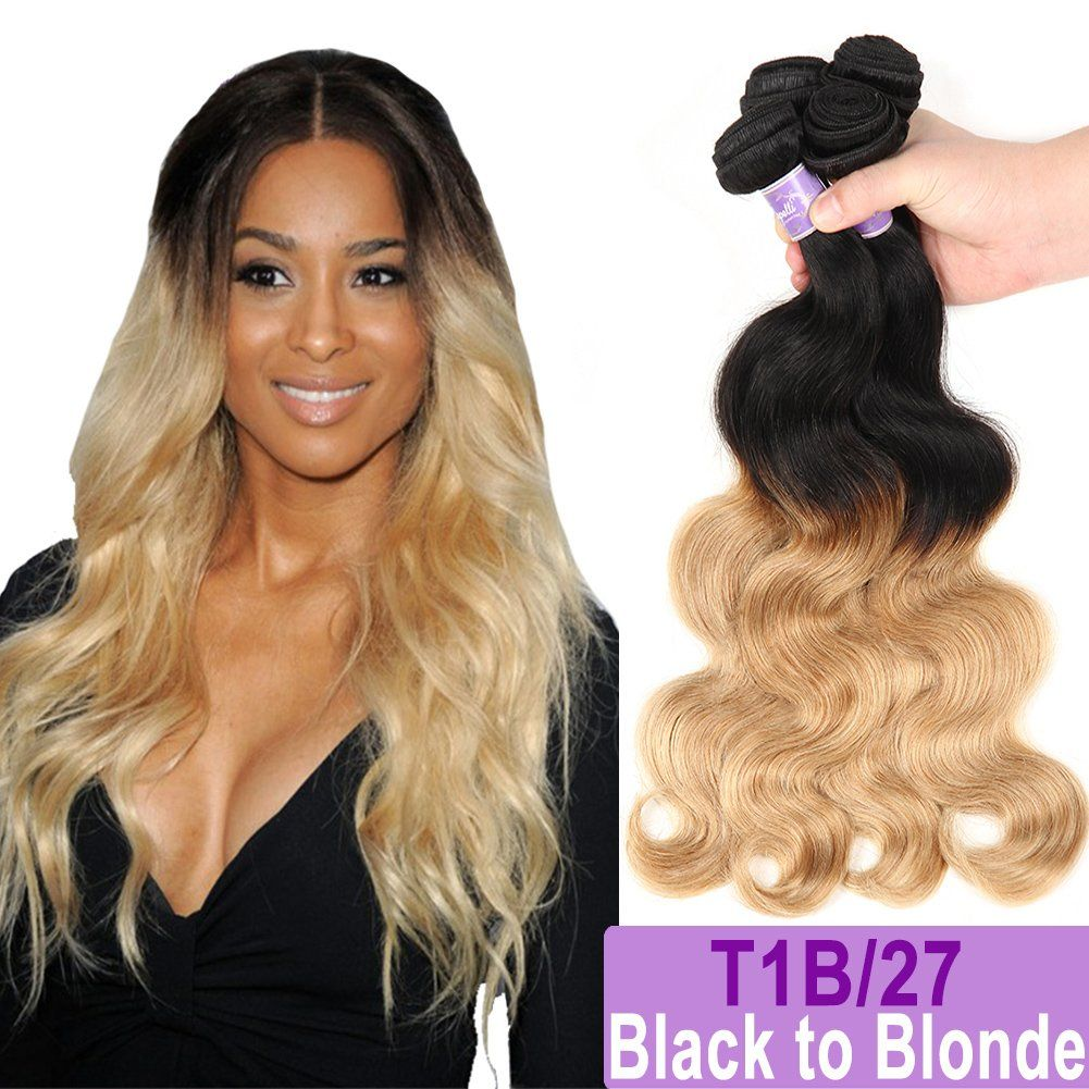 Ombre Brazilian Hair Body Wave Bundles 3pcsombre Brazilian Virgin