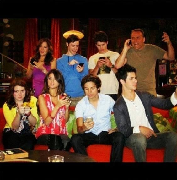 On the set of Wizards of Waverly Place: The Wizard Competition. (The television event.)